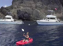 Diving on Saba