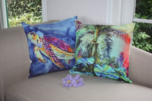 Pillows with Saba Scenes
