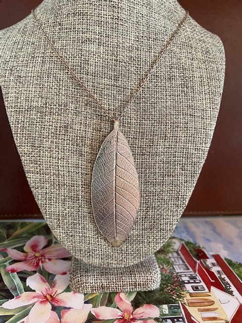 Leaf Silver Pendant