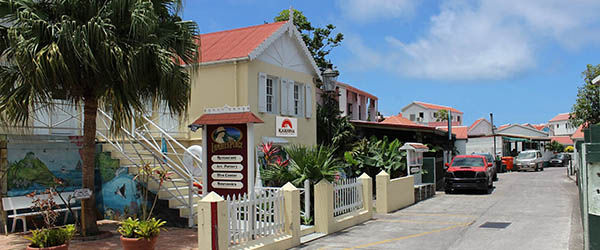 Main Street Windwardside - Saba's tourist shopping district - Caribbean Netherlands