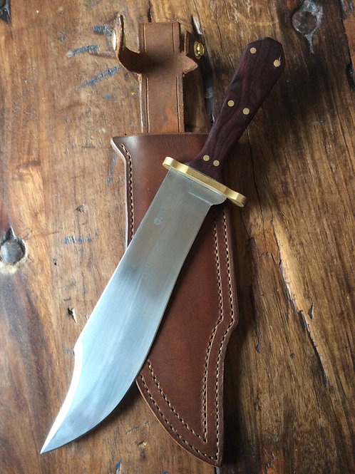 Coffin-handled Bowie Knife