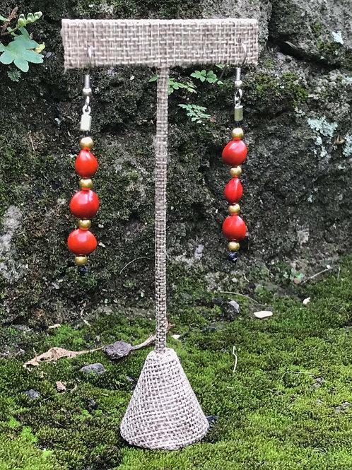 Pavonina Earrings