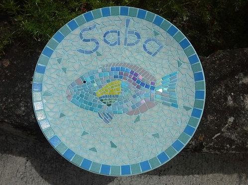 Parrotfish Plate