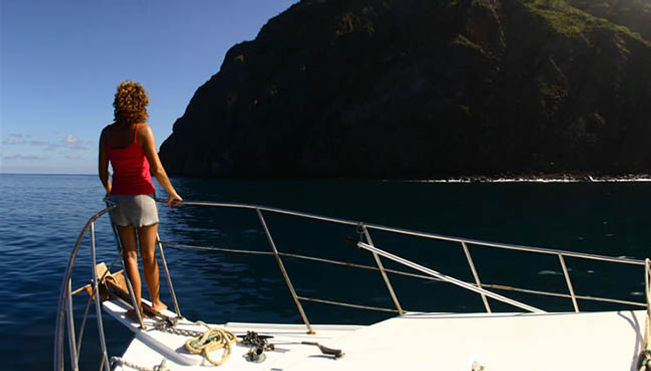 Yachting to Saba Dutch Caribbean
