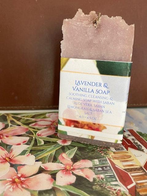 Lavender and Vanilla Soap
