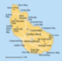 Map of St. Eustatius
