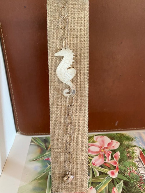 Seahorse Silver Bracelet
