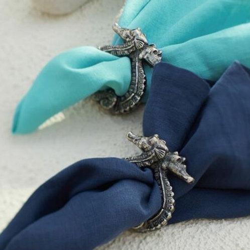 Cast Iron Seahorse Napkin Ring