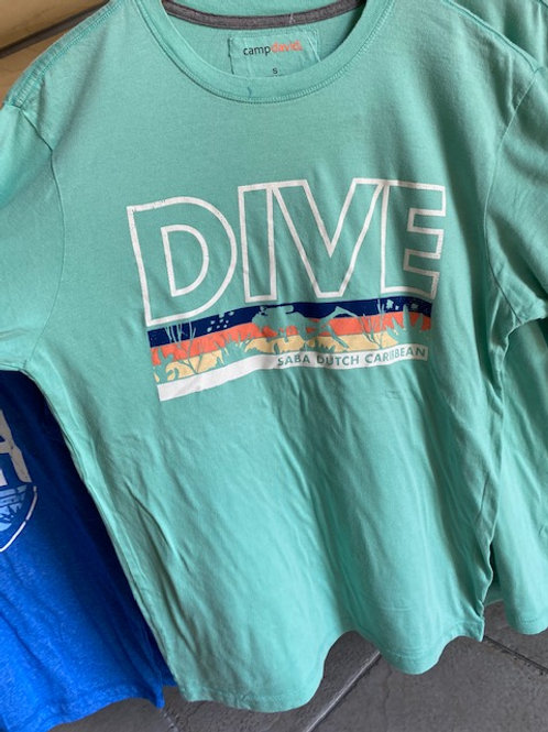 Mint Green Saba Dive