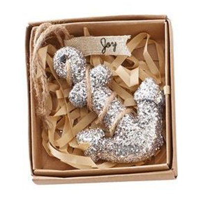 Anchor Glitter Ornament