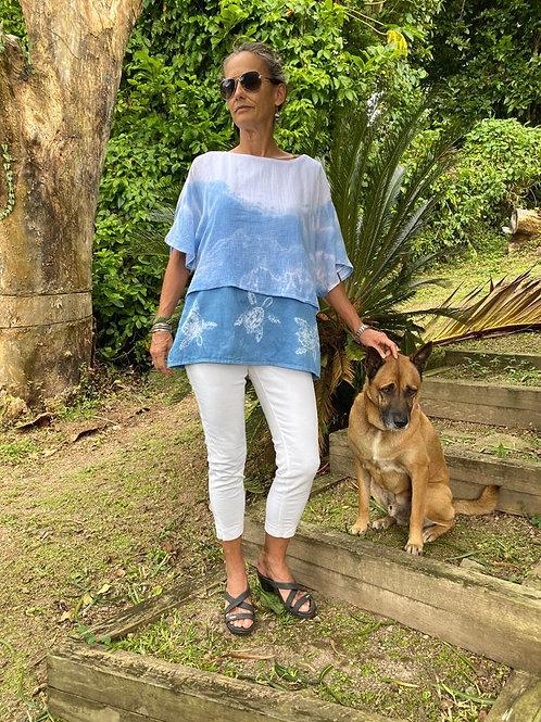 Natural Dyed Boho Shirt
