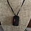 Thumbnail: Saba Island Dog Tag Coordinates Necklace