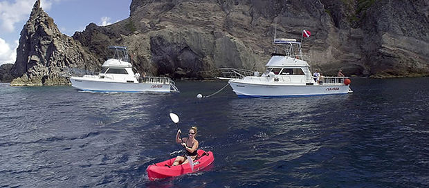 The best dive boats on Saba