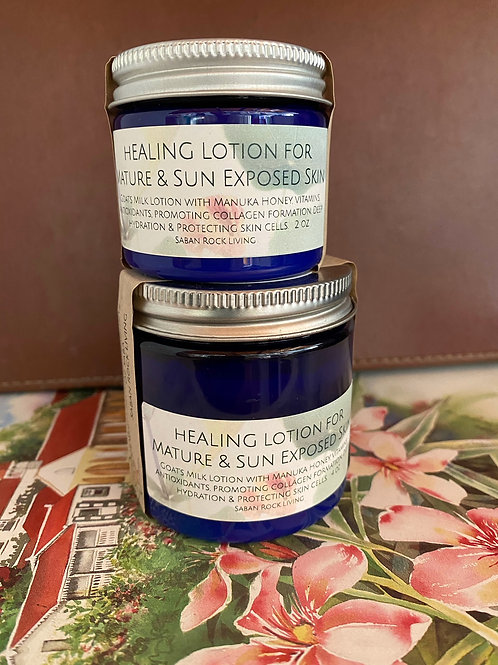 Healing Lotion for Mature & Sun Exposed Skin