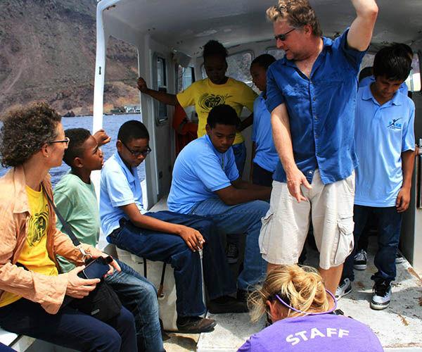 Sea and Learn Fiels Project - Saba Dutch Caribbean