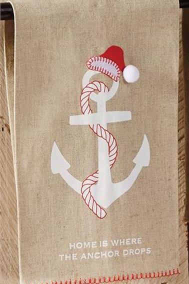 Christmas Towel Anchor