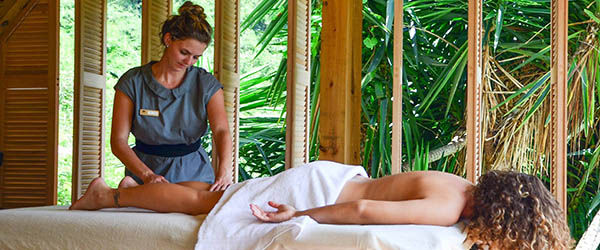 Frangiapani Spa at Queen's Gardens Resort.