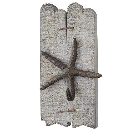 Starfish Wood Plaque