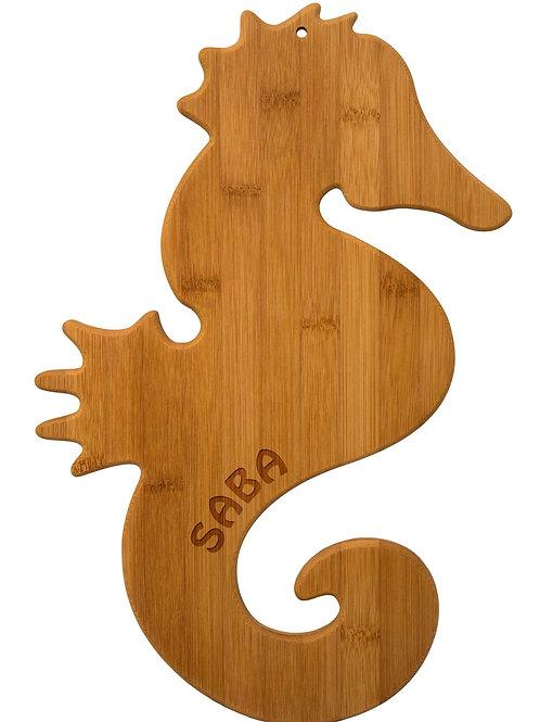 Seahorse cutting board