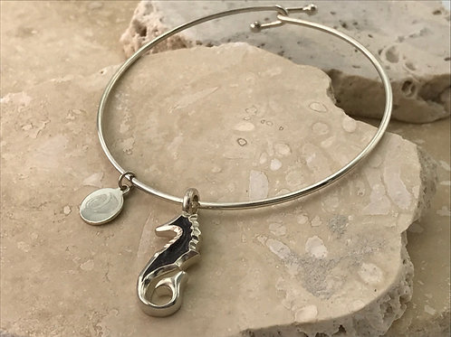 Well's Bay Seahorse Bangle