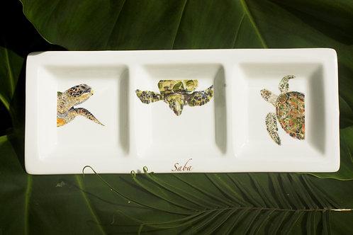A Platter that Matters--Sea Turtle Tridish