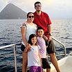 Chad & Katy Nutall, owners of Sea Saba since 2021