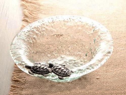 Sea Turtle Glass Bowl