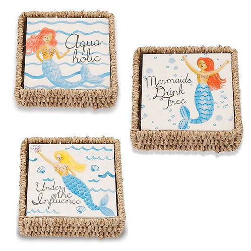 Mermaid Themed Paper Napkins