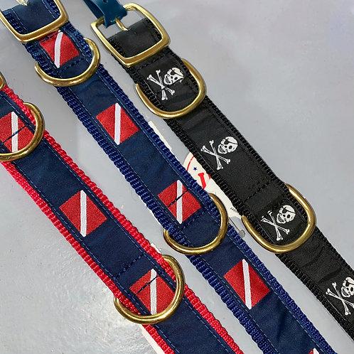 Nautical Dog Collars