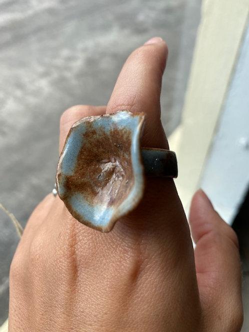 Ceramic Natural Ring