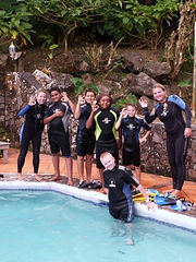 Dive training for groups is fun with Sea Saba's dive training.