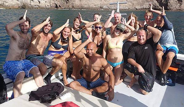 Sea & Learn on Saba is a lot of fun!