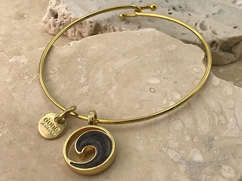 Well's Bay Wave Bangle