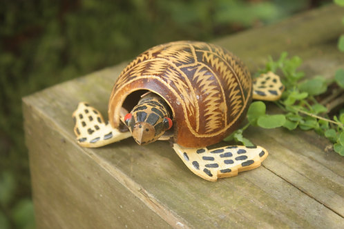Carved Sea Turtle Hatchling