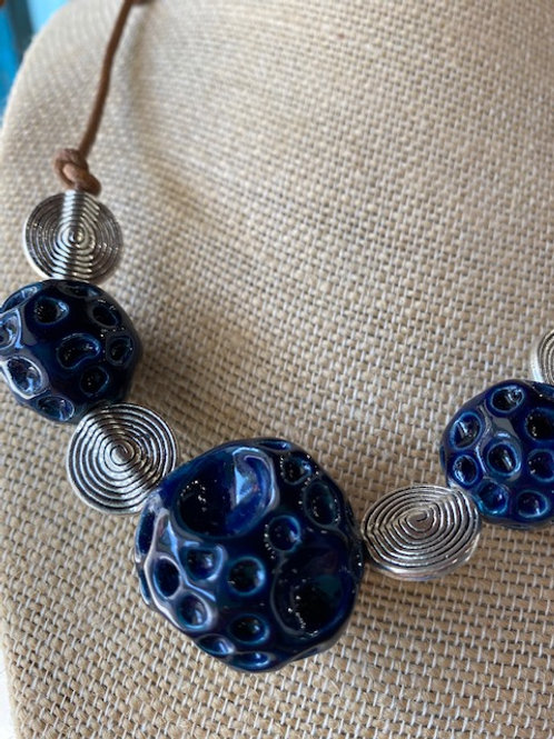 Trio Reef Lava Rocks Necklace