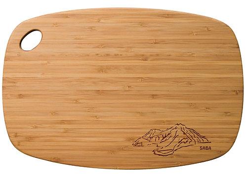 Saba Silhouette cutting board