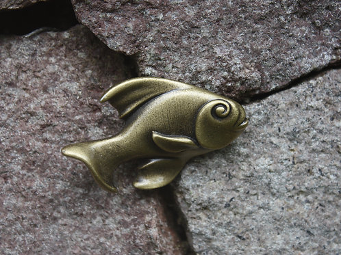 Fish Cabinet Knob