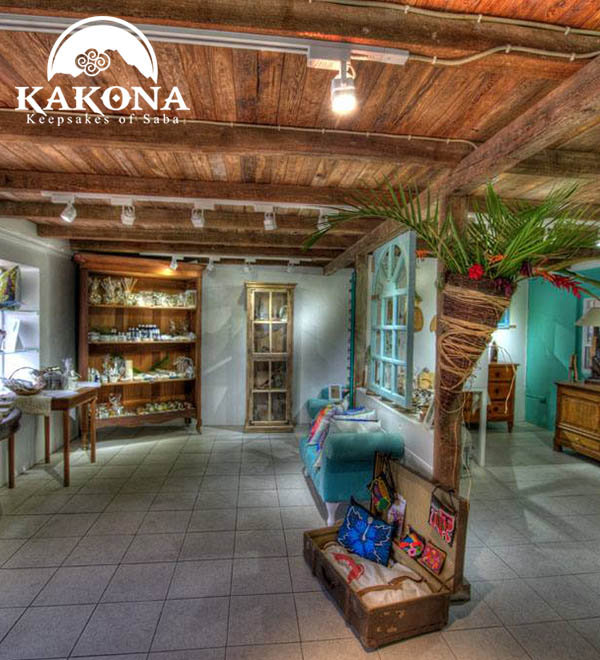 Kakona GIft Shop in Windwardside Saba - Arts & Crafts