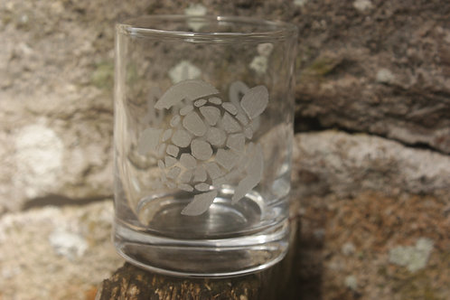 Sea Turtle shot glass standard size