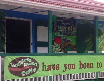 Bottom Bean Cafe - The Bottom Saba