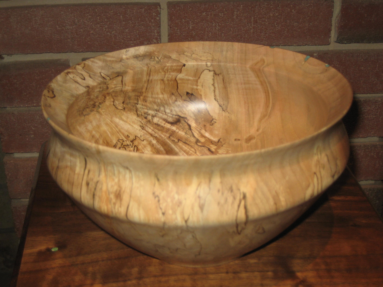 Large figured bowl