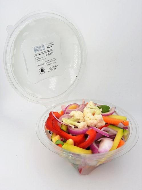 Wok of vegetable