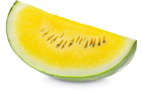 Yellow slice watermelon
