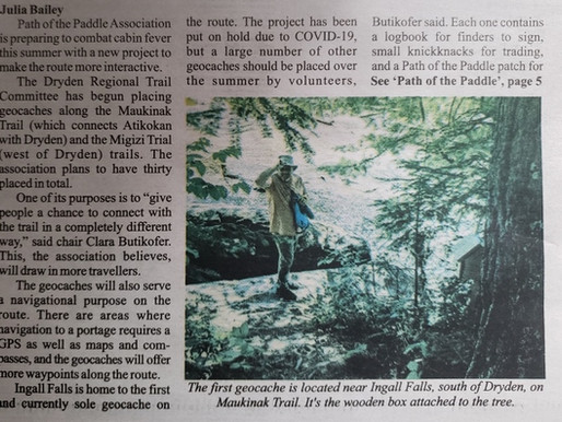 Path of the Paddle gears up for busier trails this summer