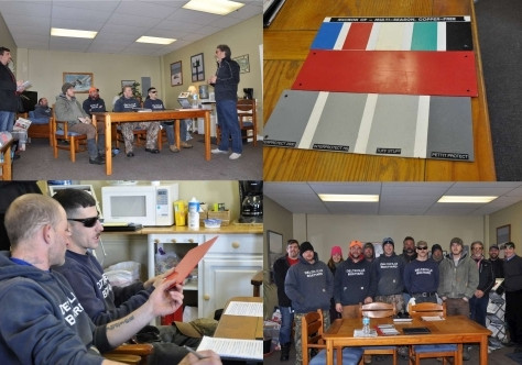 Deltaville Boatyard Specialists Receive Comprehensive Antifouling Training