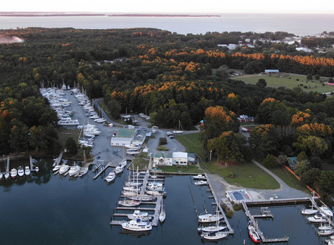 Renovations at Deltaville Boatyard and Marina Include New Floating Dock