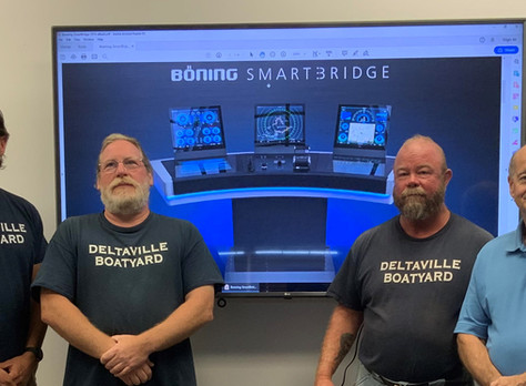 Deltaville Boatyard Recognized as Authorized Böning Automation Systems Distributor and Service Cente