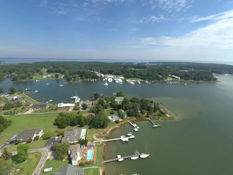 Aerial of Jackson Creek