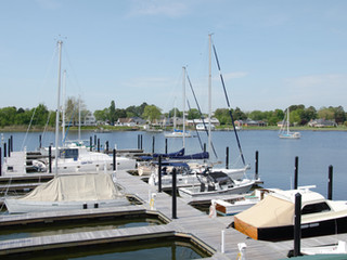 Stunning Renovations at Deltaville Boatyard and Marina Include New Floating Dock