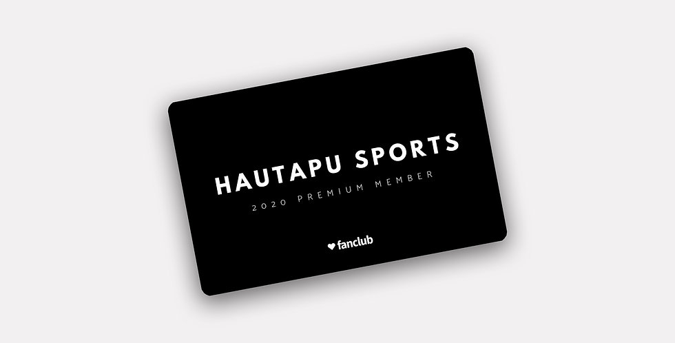 Fanclub Membership Card 2021 - Premium